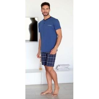 Granchio Pigiama uomo maniche corte e pantaloncino ART.GP726